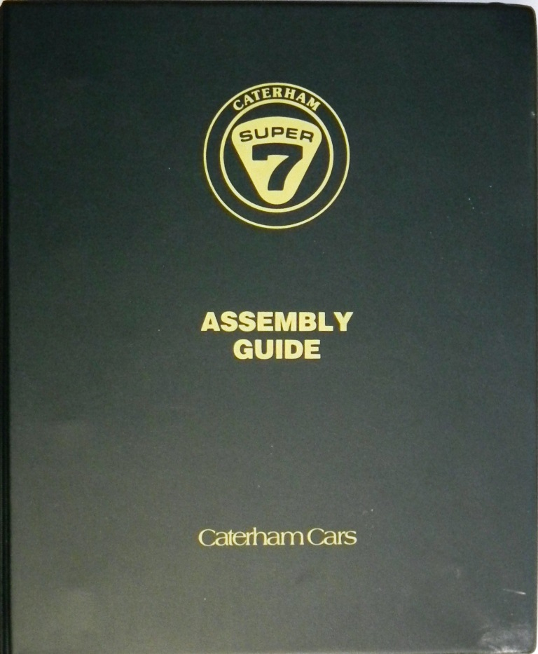 Caterham assembly guide