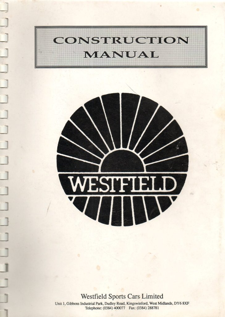 Westfield construction manual