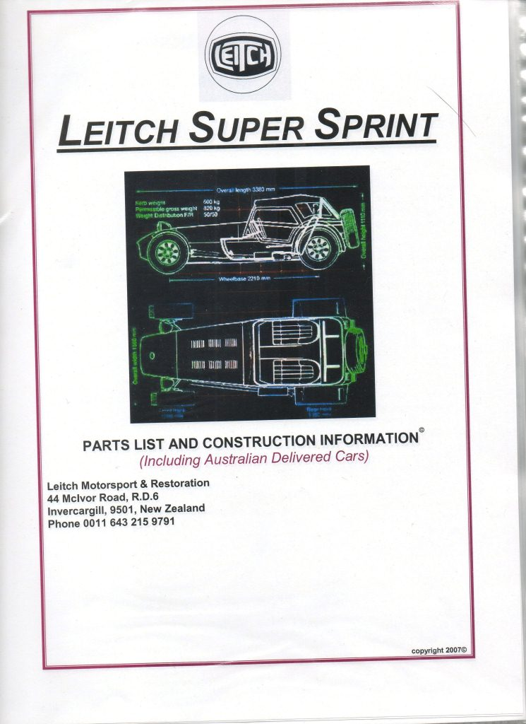 Leitch construction information