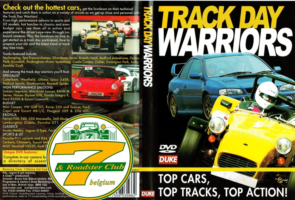 DVD - Track day warriors