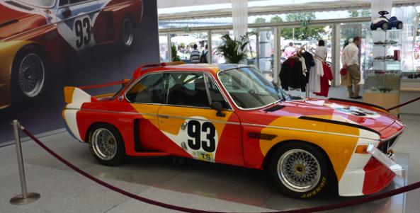 BMW CSL Calder