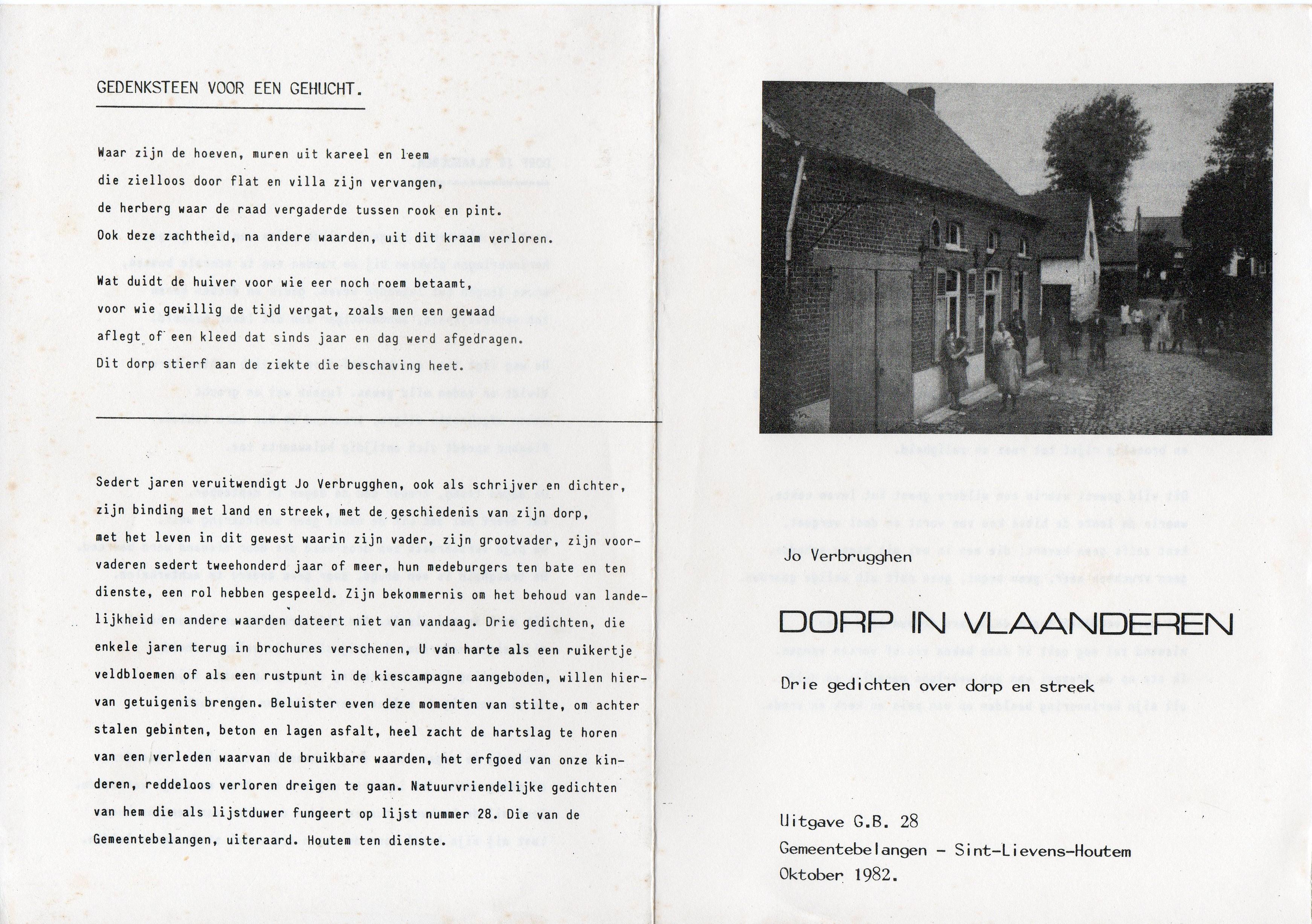 Dorp in Vlaanderen