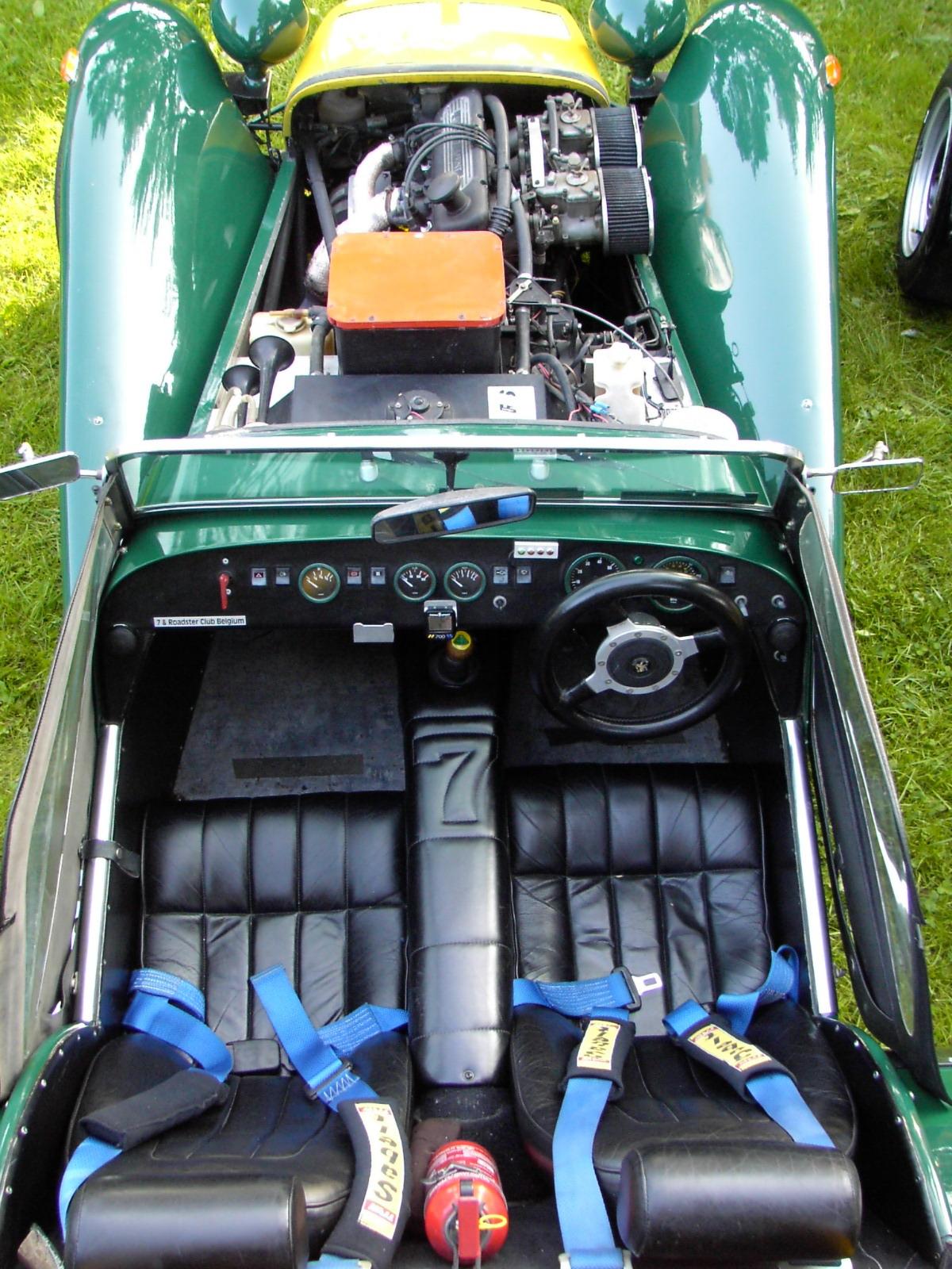 Lotus SIII rear inside